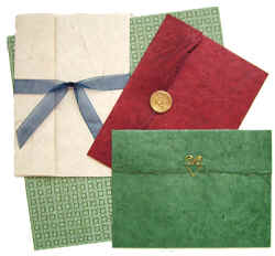 handmade paper invitations group